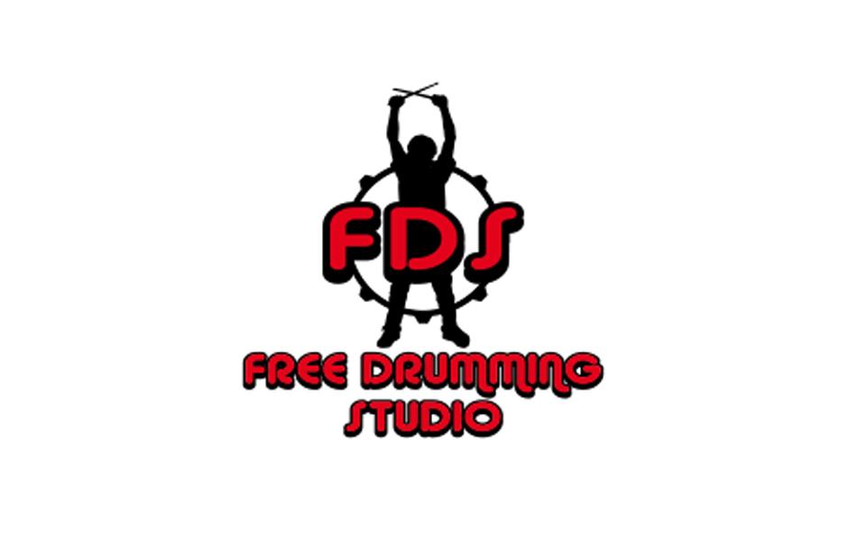 Logo della scuola professionale di batteria Free Drumming Studio
